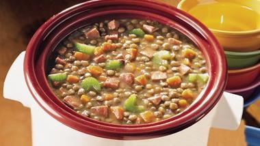 Ham and Lentil Stew