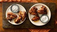 Grilled Firecracker Chicken Wings