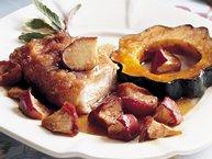 Fall Pork Dinner (Cooking for 2)