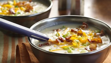 Bacon Cheddar Potato Soup