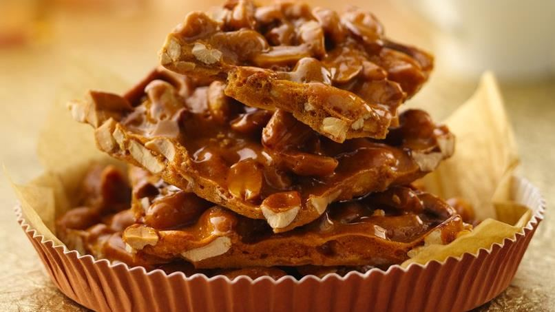 Extra-Nutty Peanut Brittle
