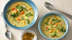 Curry Vegetariano con Leche de Coco