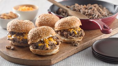 Steakhouse Burger Sloppy Joes