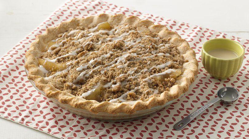 Extra Easy Boozy Bourbon Apple Pie