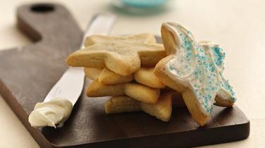 Holiday Star Sugar Cookies