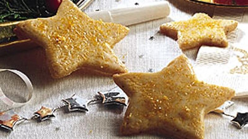 Sparkling Star Cookies