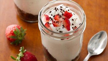 Mini Cheesecake in a Jar