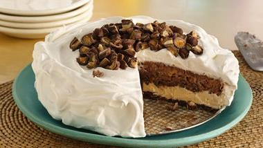 Layered Ice Cream Cookie Cake