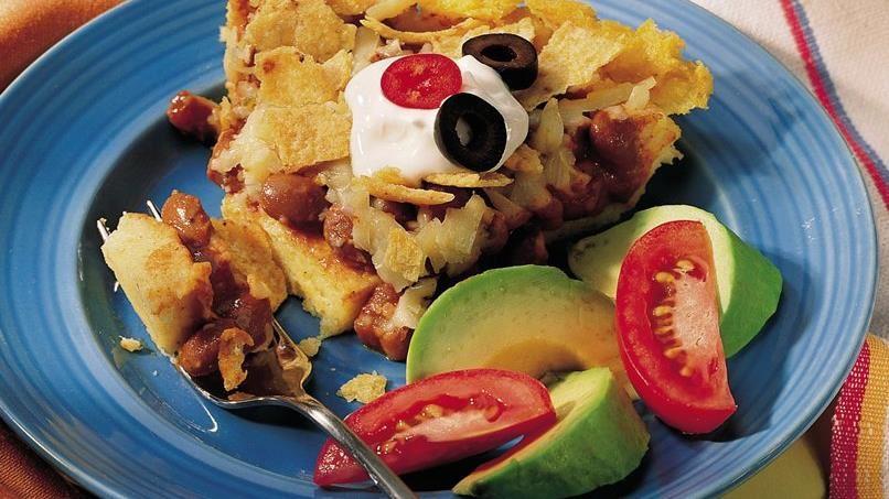 Mexican Polenta Pie