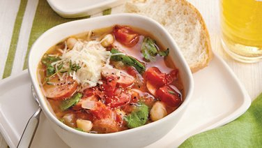 Smoky Beans and Greens Soup