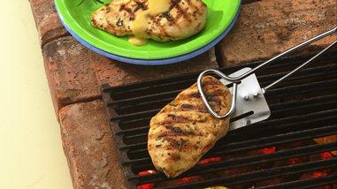 Pineapple-Glazed Chicken Breasts