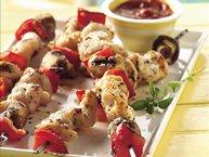 Grilled Pizza Chicken Kabobs