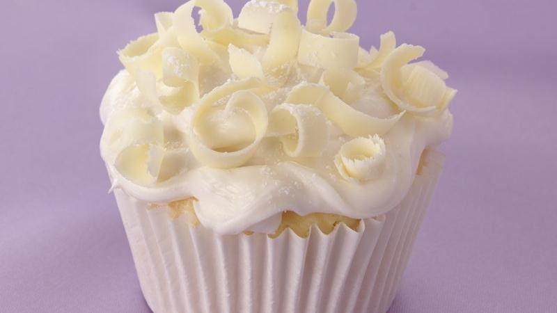 White-on-White Wedding Cupcakes