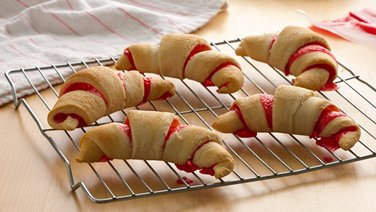 Strawberry Crescent Snacks