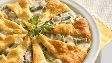 Asparagus and Turkey Pie