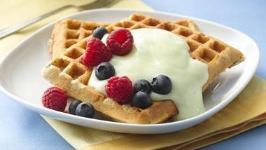 Lemon-Poppy Seed Waffles