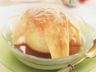 Cranberry-Glazed Apple Dumplings