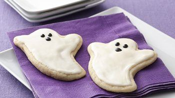 Ghost Sugar Cookie Cutouts