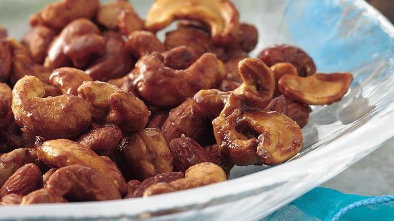 Honey-Cardamom Mixed Nuts