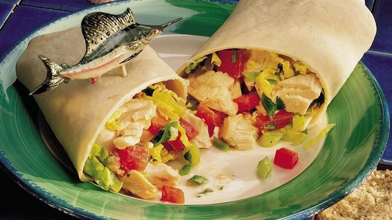 Sizzling Swordfish Fajitas