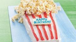 Poppin' Up Happy Birthday Cake