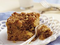 Maple-Nut Streusel Coffee Cake