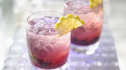 Gluten-Free Blueberry Hard Lemonade