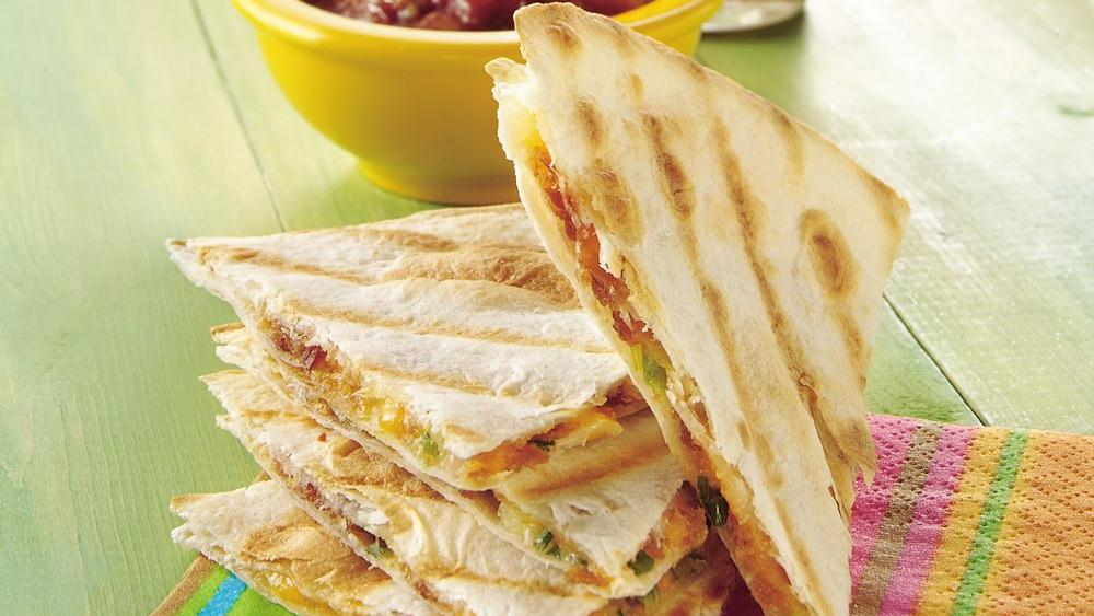 Quick Grilled Quesadilla