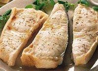 Broiled Fish Steaks
