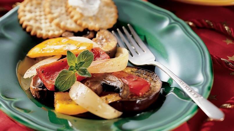 Marinated Roasted Vegetable Antipasto