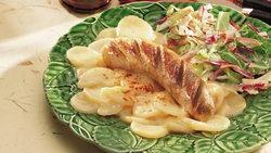 German Potato Salad with Brats