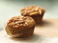 Gluten-Free Apricot Muffins with Almond Streusel Topping