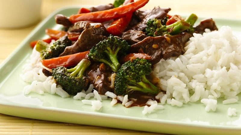 Stir-Fry Beef and Broccoli recipe from Betty Crocker
