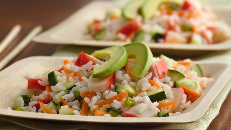 "California ""Sushi"" Rice Salad"