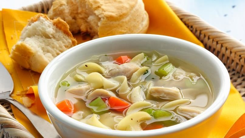 After-Work Chicken Noodle Soup