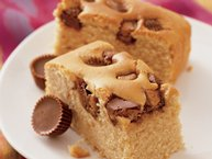 Peanut Butter Cup Snack Cake