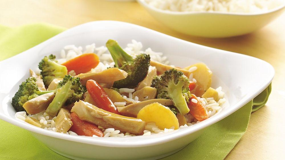 Garlic Chicken and Broccoli Stir-Fry