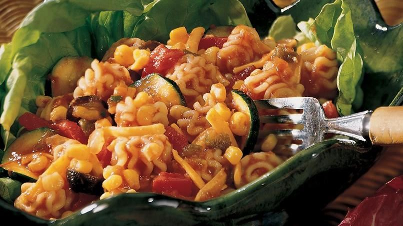 Garden Gazpacho Pasta Salad