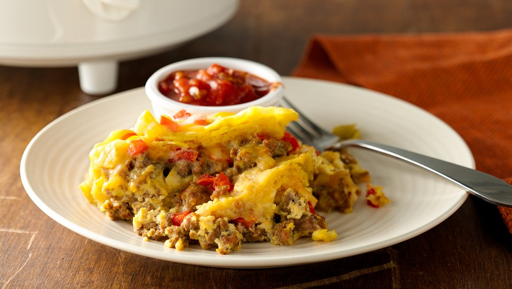 Slow-Cooker Sausage Breakfast Casserole