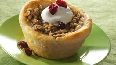 Little Cranberry-Apple Pies