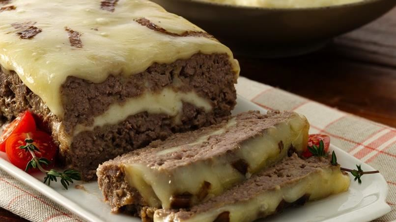 Cheese Stuffed Meatloaf