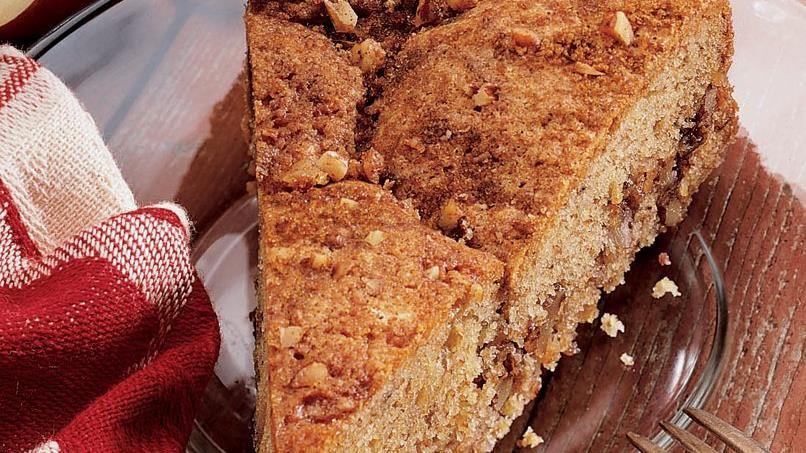 Apple Crunch Coffee Cake