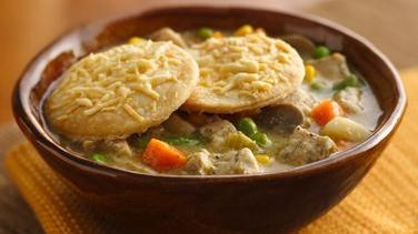 Slow-Cooker Turkey Pot Pie