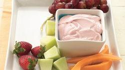 Raspberry-Lemon Fruit Dip