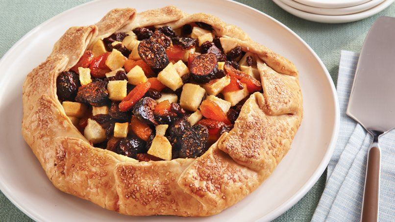 Tipsy Spiced Fruit Tart