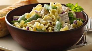 Chicken and Sugar Snap Peas Pasta Salad
