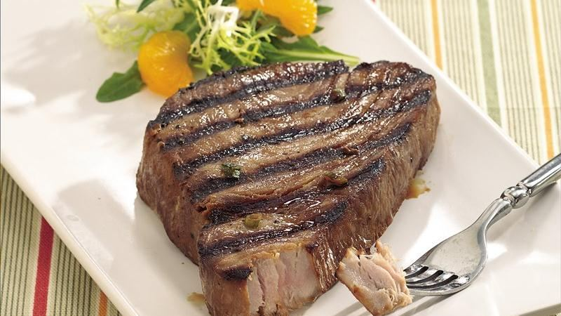 Grilled Asian Tuna Steaks