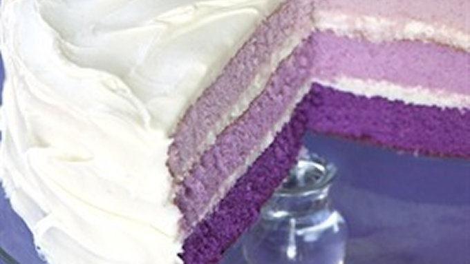 Purple-rific Layer Cake