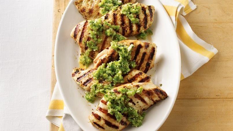 Grilled Chicken Salsa Verde
