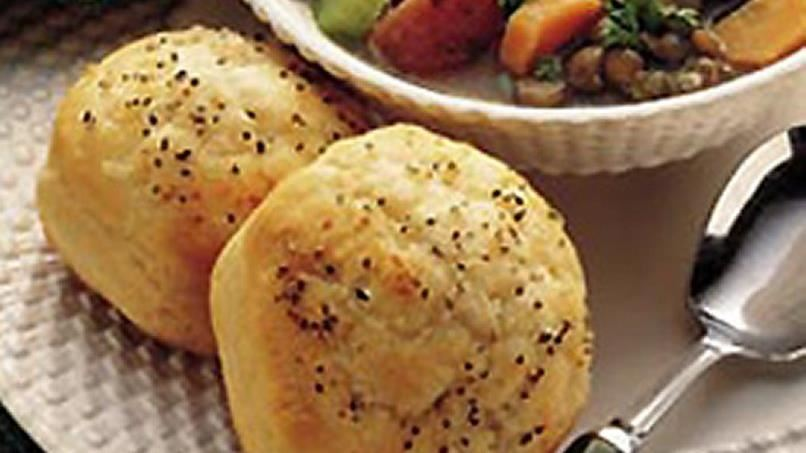 Onion Pepper Biscuits